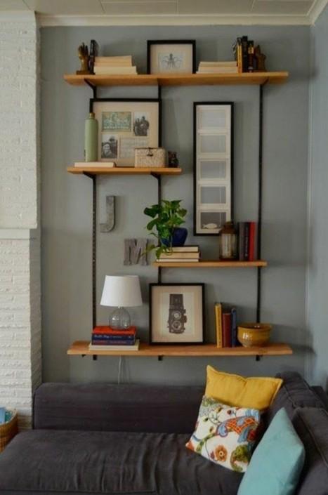 Inspiration – De jolies étagères déco – Cocon de décoration: le blog | Décoration | Scoop.it
