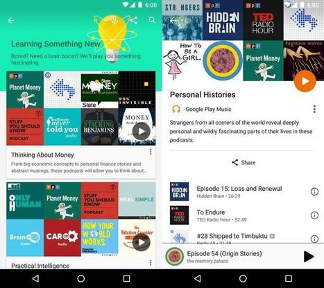 Google adds podcasts to Google Play Music | Radio 2.0 (En & Fr) | Scoop.it
