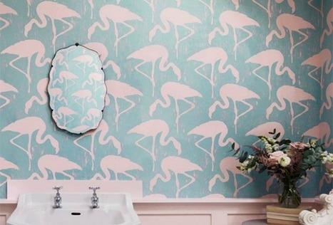 Inspiration – Papiers peints imprimés – Cocon de décoration: le blog | Décoration | Scoop.it