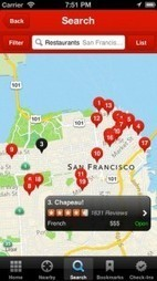 Updated Yelp App Shows Users Where Friends Are Checked In - SocialTimes | World of Apps | Scoop.it