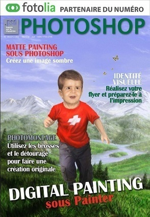 Psd photoshop n 60 juin 2012 digital painting painter m