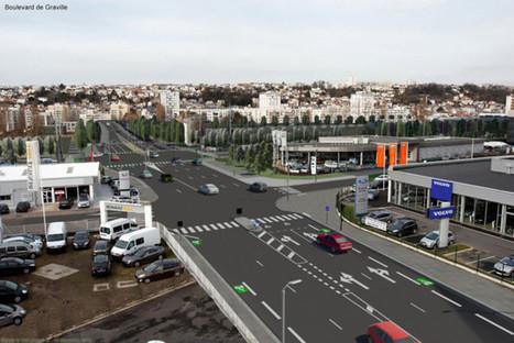 L'entrée de ville du Havre se refait une beauté - 76actu | Le Havre | Scoop.it
