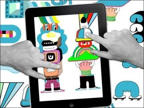 35 Great iPad Apps for Designers, Geeks and Creative Individuals - Creative Can Creative Can | In The Classroom | Scoop.it