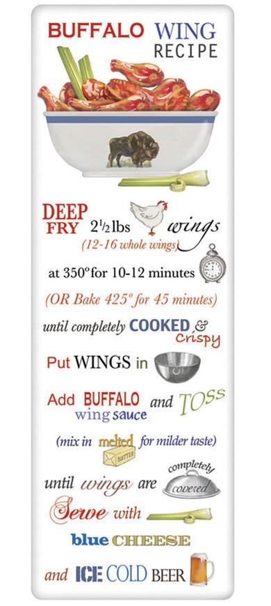 Recipe Flour Sack Dish Tea Towels - Buffalo Wings | FOOD? HEALTH? DISEASE? NATURAL CURES??? | Scoop.it