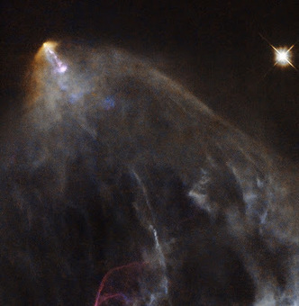 The Archaeology News Network: Hubble sees a glowing jet from a young star | Scientific and space | Scoop.it
