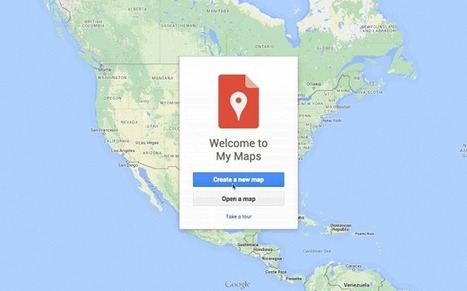 Google My Maps est désormais accessible via Google Drive - #Arobasenet.com | Geeks | Scoop.it