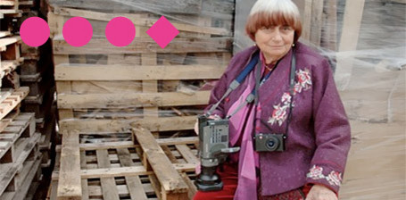 Agnès Varda s'amuse pour Marseille-Provence 2013 | Merveilles - Marvels | Scoop.it