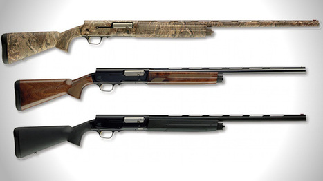 Browning Expands A5 Series, Adds Shotguns with Magnum Chambers - Guns.com | Modern Arms, and armour | Scoop.it
