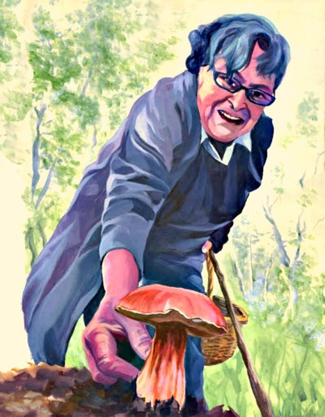 A day with Tonti Agostina, champion mushroom hunter | Le Marche another Italy | Scoop.it