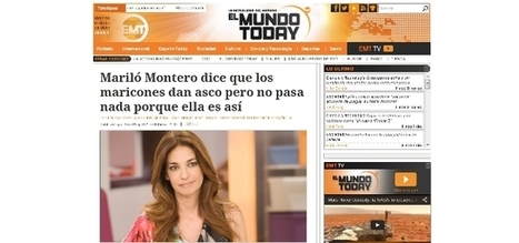 "'El Mundo Today' contesta a Mariló Montero: ""Nuestra intención no es insultar"" - Ecoteuve.es 