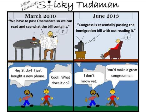 Sticky Tudaman On The Bill Passing Process | Political Humor | Scoop.it