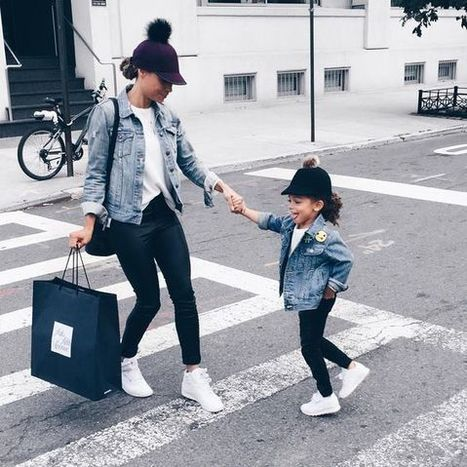 """Most Adorable """"Mommy and Me"""" Outfit In The Street » Celebrity Fashion, Outfit Trends And Beauty News 