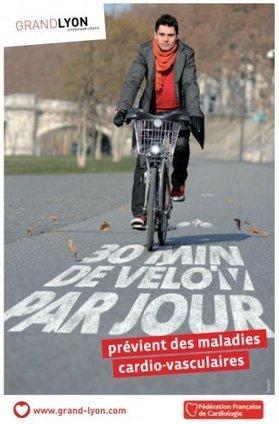La Ville à Vélo, association de promotion du vélo à Lyon - Une publicité positive sur le vélo par le Grand Lyon | Balades, randonnées, activités de pleine nature | Scoop.it