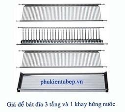 Giá úp Bát đĩa 3 Tầng | Tubepgiakhanh.com | Phong thủy tủ bếp gia đình | Scoop.it