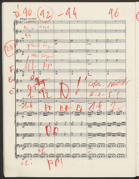"Digital Storytelling: Egmont Overture, op. 84 (Coda) - ""Music, First and Last"": Scores from the Sir Georg Solti Archive - Loeb Music Library - Harvard College Library 