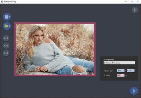 Escalar imágenes sin perder calidad con A Sharper Scalling | Software y Apps | Scoop.it