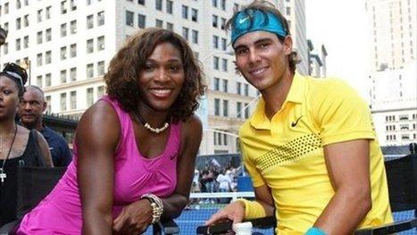Tenis - Rafa Nadal y Serena Williams baten récords de ganancias - Yahoo Eurosport ES | Tenis99 | Scoop.it