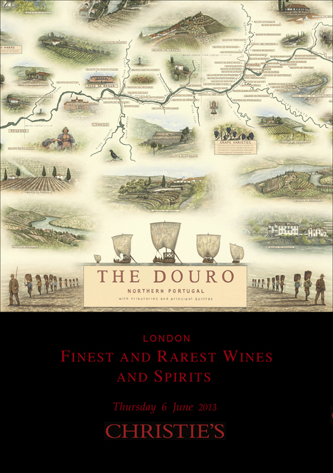 Douro Map Launch at Christie's | The Douro Index | Scoop.it