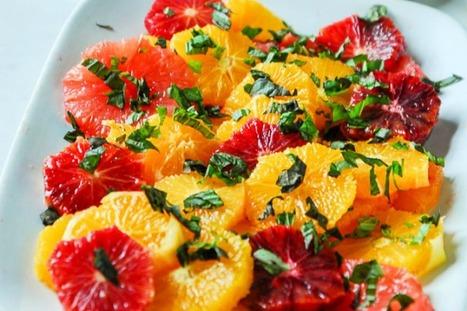 Simple Basil Citrus Salad With Balsamic Jam Dressing [Vegan, Gluten-Free] | My Vegan recipes | Scoop.it