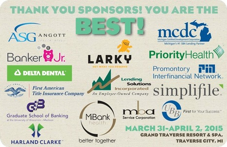 Thank You BEST 2015 Sponsors & Exhibitors! | Bankers Education Summit and Trade Show (BEST) | Scoop.it