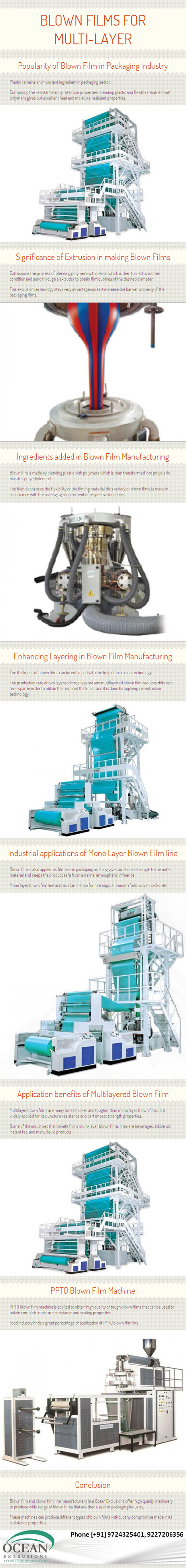 Blown Films for Multi-Layer Form by www.oceanextrusions.com | oceanextrusions | Scoop.it