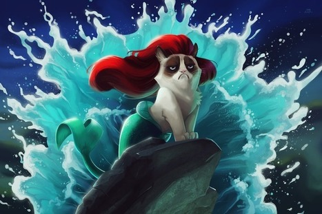 Hilarious Disney Mash-Ups Feature the Popular Grumpy Cat | Le It e Amo ✪ | Scoop.it