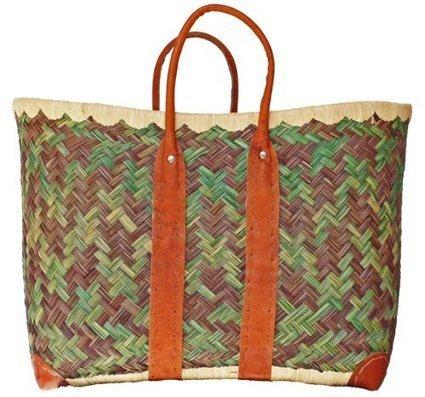 &&&   Handgeflochtener Einkaufskorb Badetasche aus Binsen-Faser belastbar bis 30 kg | Günstige Einkaufskörbe | Scoop.it