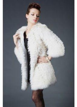 Women's Furs :: Fur Coats :: Rabbit :: Genuine Raccoon Fur Stroller Coat - | furs | Scoop.it
