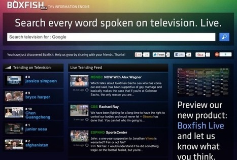 Forget channel surfing: How Boxfish plans to revolutionize real-time TV search | FutureChronicles | Scoop.it