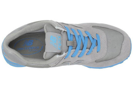 Womens new balance WL574NGL Japanese style light Blue Grey Sneakers | new style | Scoop.it