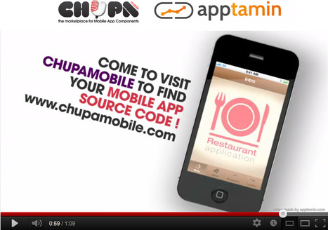 Chupamobile Restaurant App Template video – Chupa Mobile Blog | mobile source code | Scoop.it