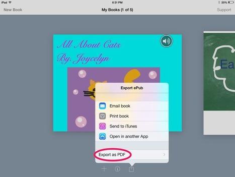 Distintas formas de compartir el trabajo de sus alumnos Del Blog El Book Creator App ~ Mrs. Wideen | Edu-Recursos 2.0 | Scoop.it