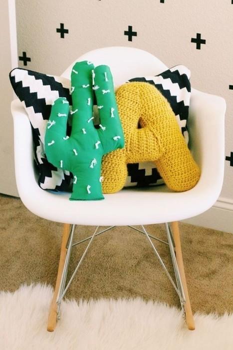 DIY – 10 Idées pour personnaliser vos coussins – Cocon de décoration: le blog | Décoration | Scoop.it
