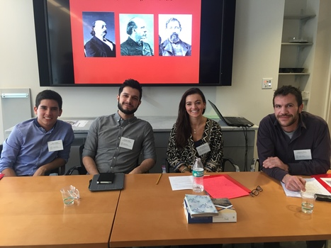 "U Mass PhD Student Gina Malagold Presents Research at Cornell University ""Ideas of South""  