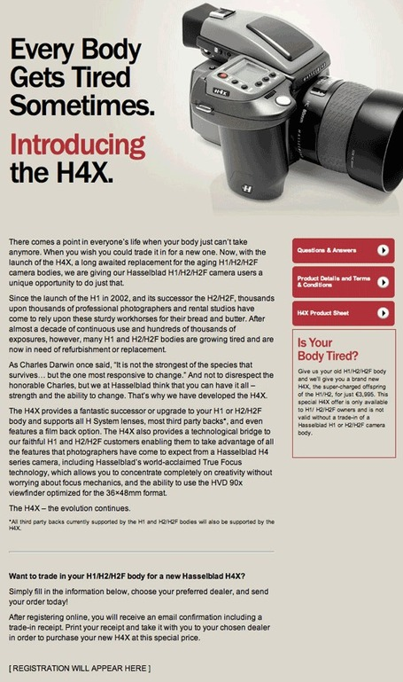 "New Hasselblad H4X body coming soon | ""Cameras, Camcorders, Pictures, HDR, Gadgets, Films, Movies, Landscapes"" 