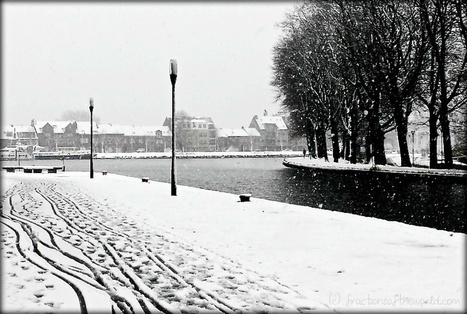 Snowscape in Belgium | Fractions of the world Travel blog | Scoop.it