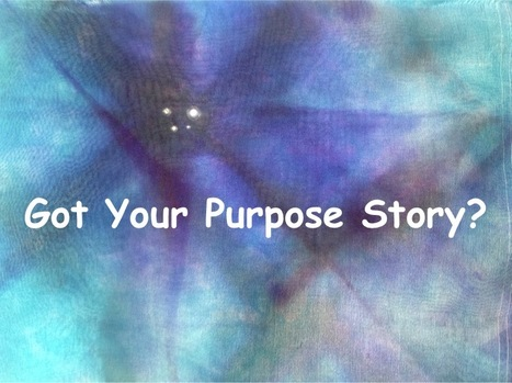 Sharing Your Company's Purpose Using Storytelling | Just Story It! Biz Storytelling | Scoop.it