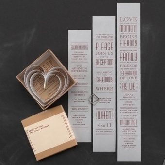 2014 Wedding Invitation Trends - Wedding Card and Announcements - Occasions In Print | Weddings | Scoop.it