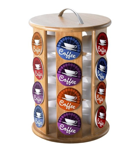 Carousel Coffee Pod Holder | K Cups and Coffee | Scoop.it