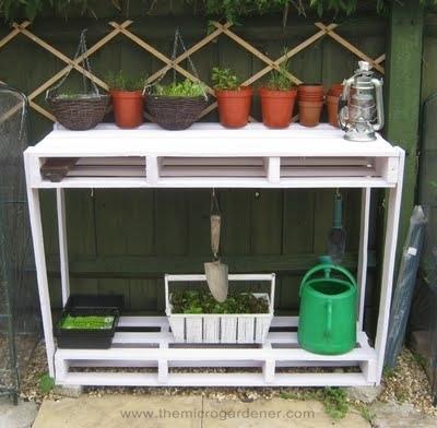 20 idées de recyclage de palettes pour le jardin | Eco-tourisme | Scoop.it