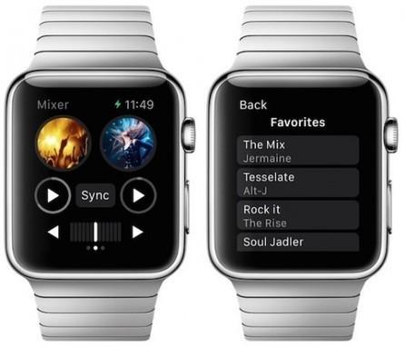 Djay pour Apple Watch permet de mixer des chansons sur votre poignet | Téléphone Mobile actus, web 2.0, PC Mac, et geek news | Scoop.it