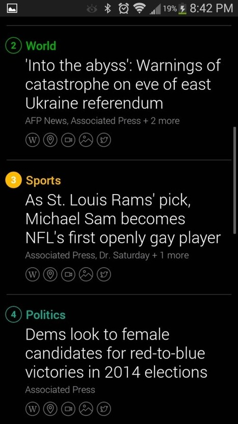 Yahoo News Digest is sharp and sleek. Students might like it. Here's why I don't. | News, Nonfiction & Research in High Schools | Scoop.it