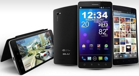 BLU Products unveils Tegra 3-running Quattro 4.5, 4.5 HD and 5.7 HD | Mobile Technology | Scoop.it