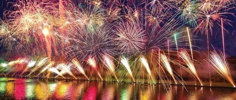 Feux d'artifice sur la grande digue du lac de Bouzey | Revue de Web par ClC | Scoop.it