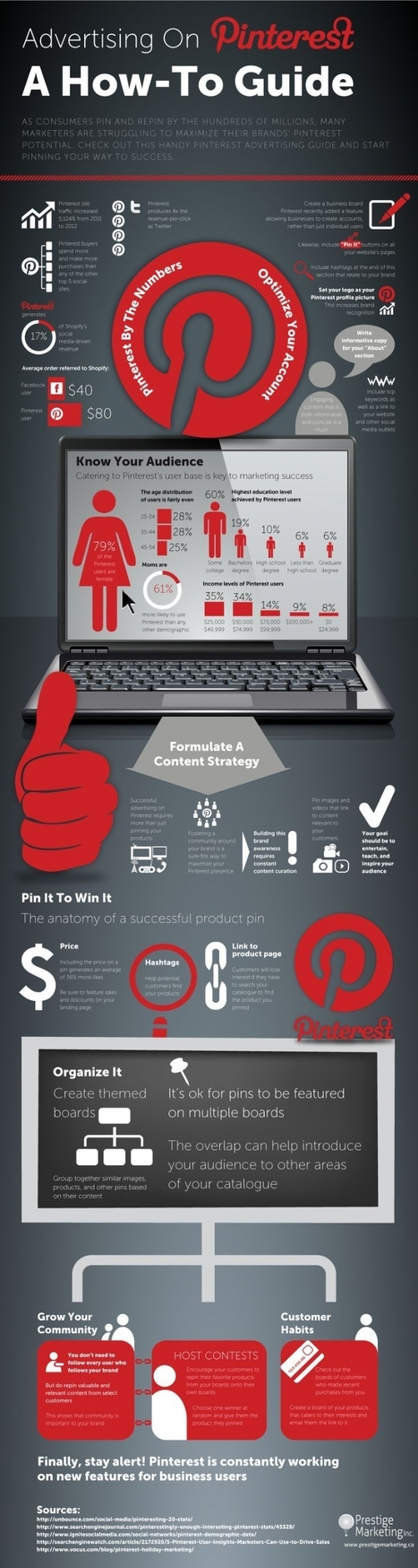 [Infographie] Publicité sur Pinterest : mode d'emploi | ebiznews | Scoop.it