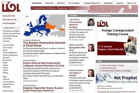 Transitions online: apoyo al periodismo independiente en Europa del Este | Periodismo Ciudadano | Periodismo Ciudadano | Scoop.it