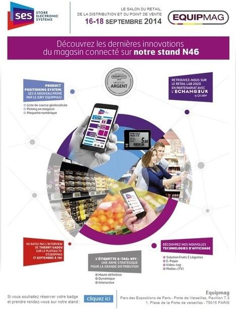 SES sera présent sur le salon Equipmag à Paris du 16 au 18 septembre 2014 | Store Electronic Systems News | Scoop.it