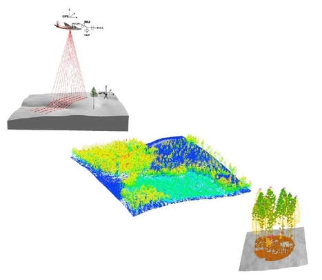 SPIE | Proceeding | The possibility of using remote sensing technology of lidar for monitoring ecosystem health by detecting habitat condition | Remote Sensing - Vegetation Classification & Condition | Scoop.it