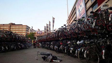 Aux Pays-Bas, Utrecht construit le plus grand parking à vélos au monde | Revue de web de Mon Cher Vélo | Scoop.it
