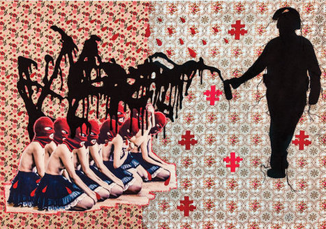 The Stitched, Collaged and Chillingly Violent Female Warriors of Artist Elektra KB | Creativity, Ideas and Art Education | Scoop.it